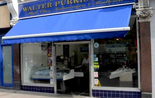 fishmonger shop front muswell hill