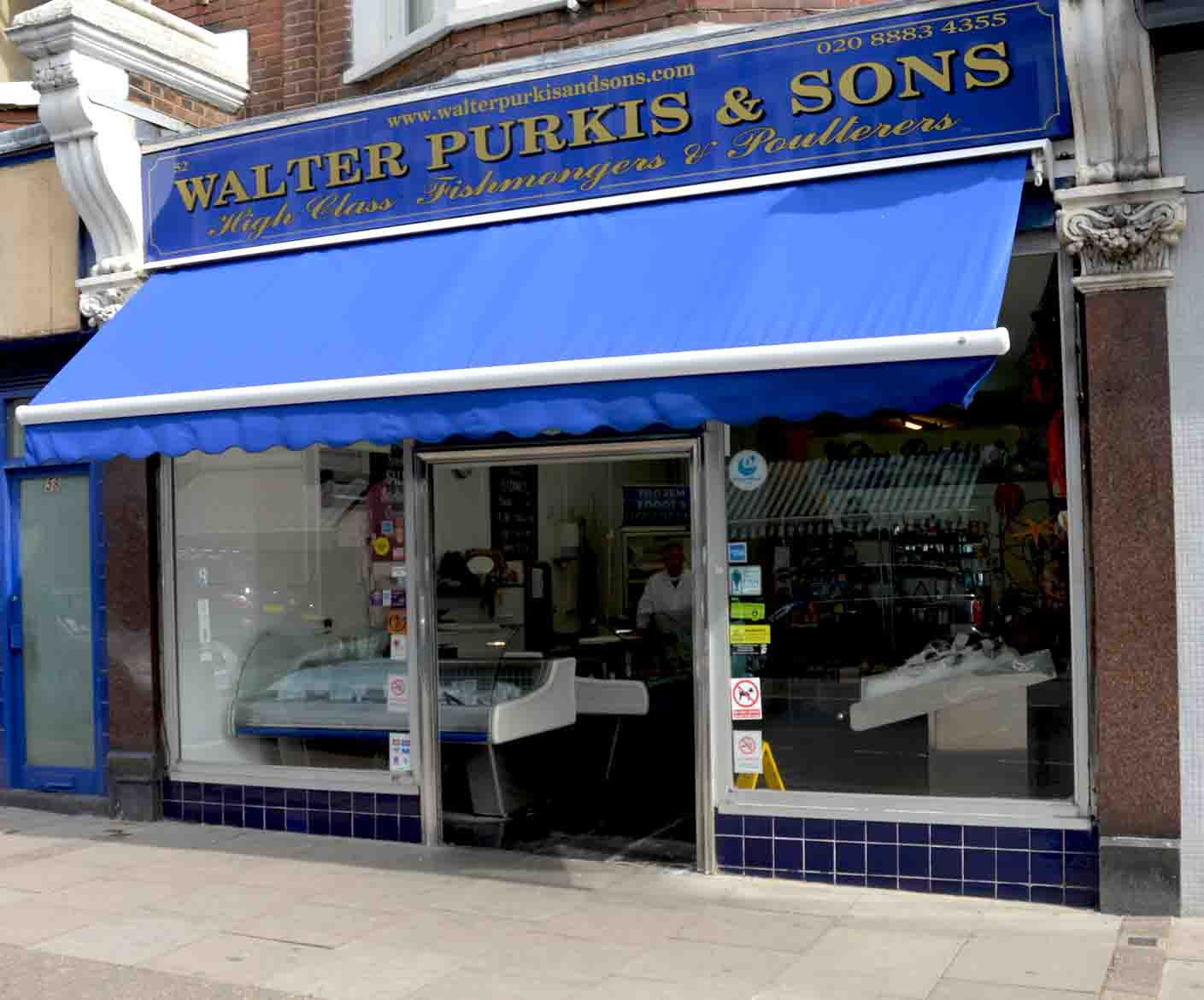 Walter Purkis Muswell Hill Fishmonger