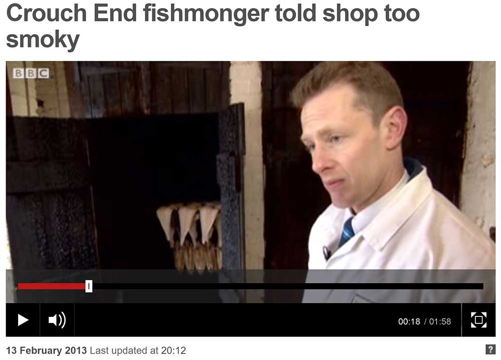 crouch end smokehouse bbc news clip