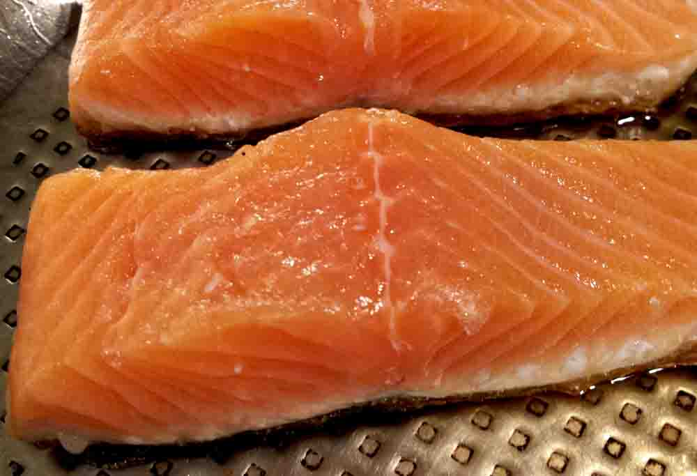 Salmon fillets with seasame walter purkis and sons for How to cook salmon fish