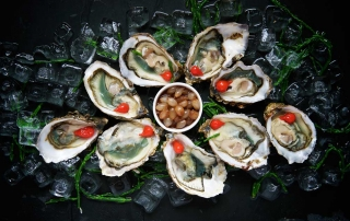 Oysters for romance