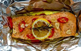 Salmon Fillet Parcel