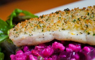 Gremolata Crusted Halibut