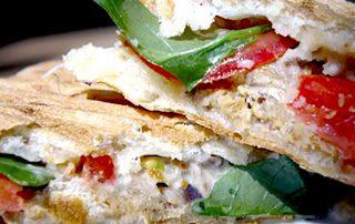 mackerel panini