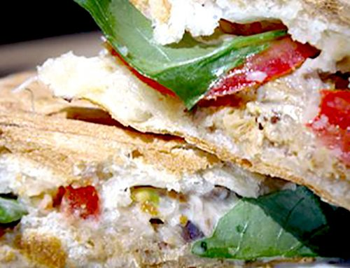 Mackerel Panini With Feta