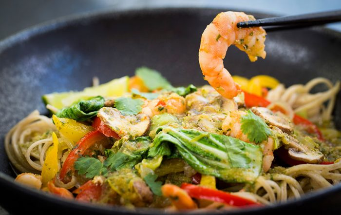 Prawn Curry Stir Fry