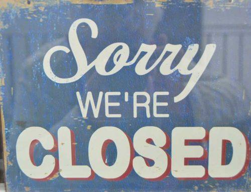 Bank Holiday Closing