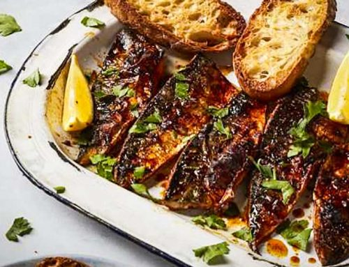 Piri Piri Mackerel Recipe