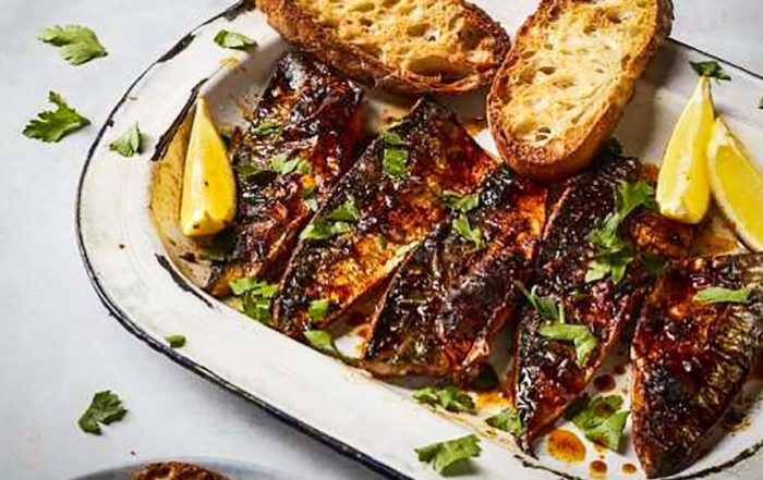 piri piri mackerel