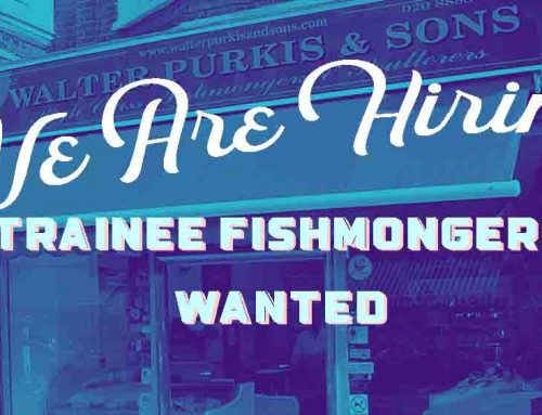 We Are Looking For A New Trainee Fishmonger
