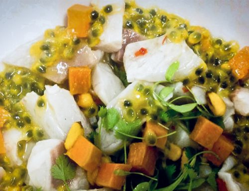 Seabass Ceviche Recipe