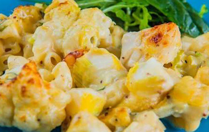 smoked haddock macaroni
