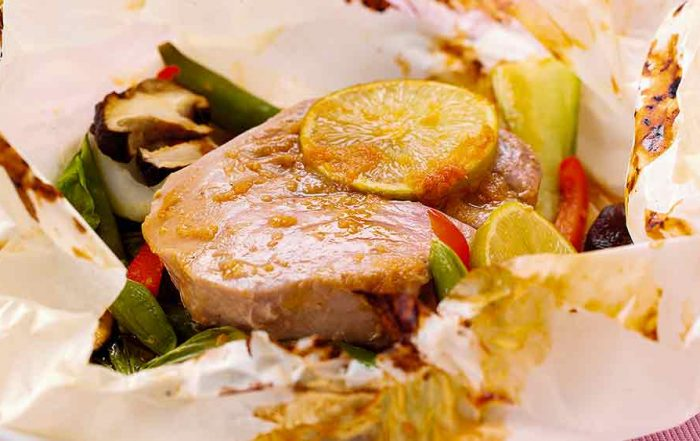 Tuna Steak Parcels