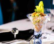 classic retro prawn cocktail
