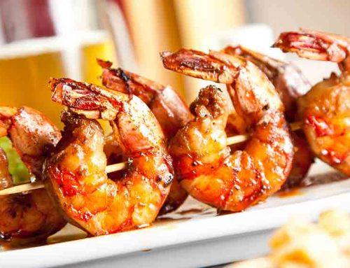 Prawn Skewers Barbecue Recipe